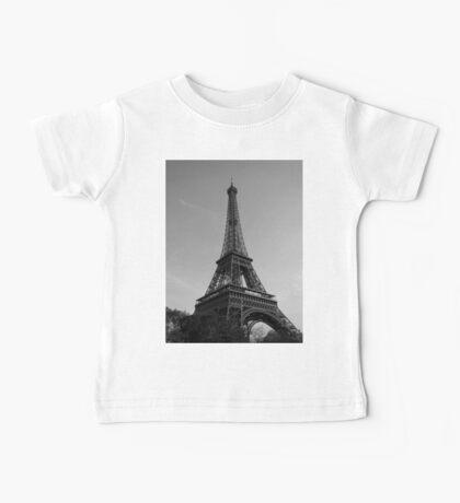 Eiffel Tower Black & White (Paris) Baby Tee