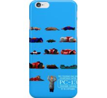 Rated PC-13 iPhone Case/Skin
