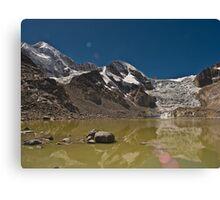 Reflecting Glacier Canvas Print
