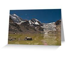 Reflecting Glacier Greeting Card
