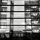Reflections - Bulding within a building by Neil Messenger