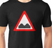 Speed Bump Sign Unisex T-Shirt