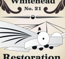Whitehead No. 21 Restoration Sticker
