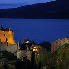 Dusk at Urquhart Castle by scotgates