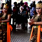 Indonesian dancer by Heather Butler