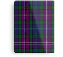 00334 South Lanarkshire District Tartan Metal Print