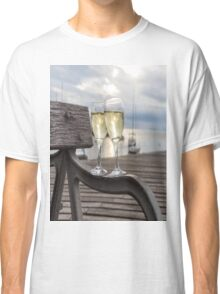 Wine and Sunset Classic T-Shirt