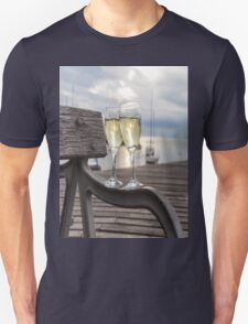 Wine and Sunset Unisex T-Shirt
