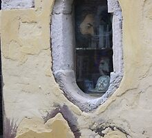 at the window by fabio piretti