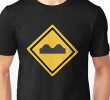 Speed Bump Symbol Unisex T-Shirt