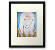 One Toke Over the Line (Panama Red) Framed Print