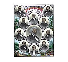 Distinguished Colored Men Photographic Print