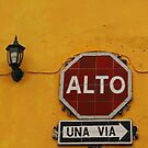 Alto Sign - Antigua Guatamala by deserttrends
