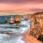 Golden Limestone Cliffs by Shannon Rogers