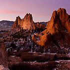Purple Morning at Garden of the Gods by RondaKimbrow