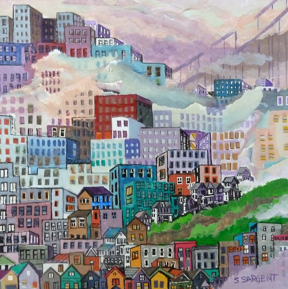 The Rainbow District  #2 by Sally Sargent