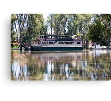 MV Mary Anne on the Murray Canvas Print