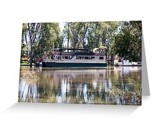 MV Mary Anne on the Murray Greeting Card