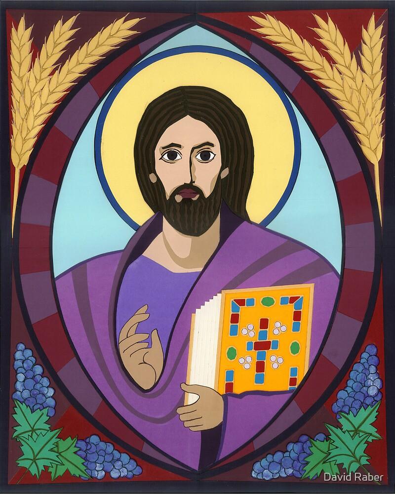 Icon of Christ Pantokrator by David Raber