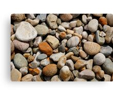 Coloured stones  Canvas Print