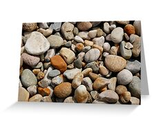 Coloured stones  Greeting Card