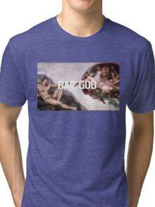 MVSTERPIECE #2: EMINEM X MICHELANGELO Tri-blend T-Shirt
