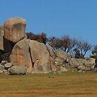 The Rocks, Tooborac, Victoria Australia by Margaret Morgan (Watkins)