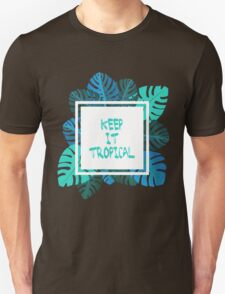 Keep it #tropcal No.2 in BLUE T-Shirt