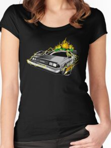 Blanka to the Future Women's Fitted Scoop T-Shirt