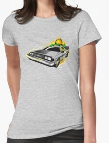 Blanka to the Future Womens Fitted T-Shirt
