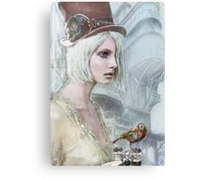 pale steampunk Canvas Print