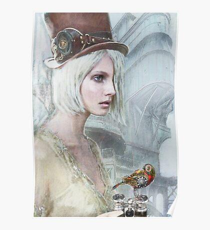 pale steampunk Poster