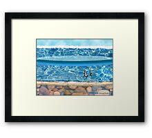 """""""Sunny Beach""""  Framed Print"""