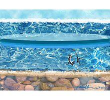 """Sunny Beach""  Photographic Print"