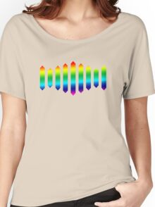 Sufjan Stevens Rainbow Design Women's Relaxed Fit T-Shirt