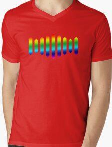 Sufjan Stevens Rainbow Design Mens V-Neck T-Shirt