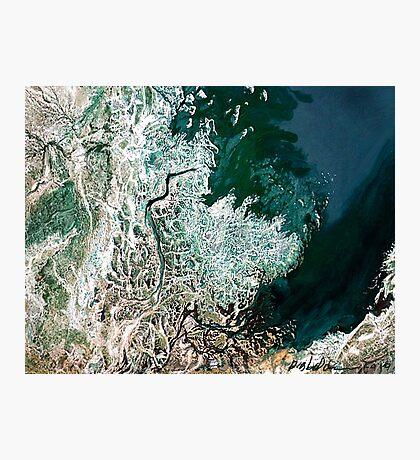 """Northern Estuary""  Photographic Print"