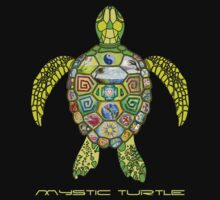 Mystic Turtle & 13 moons by carlindesign