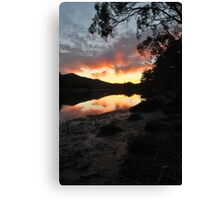 Late Afternoon at Wiseman's. Canvas Print