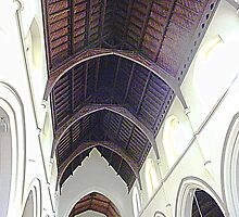 Ceiling of Holy Trinity Church - Williamstown by EdsMum