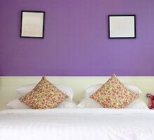 violet lovely bedroom by juat