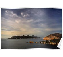 Freycinet from Cape Tourville Poster