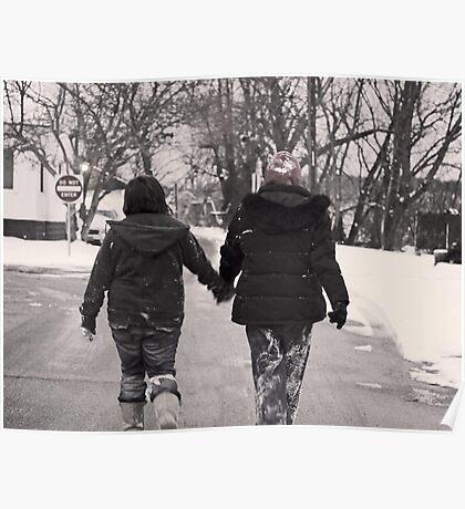 Winter Walks Poster