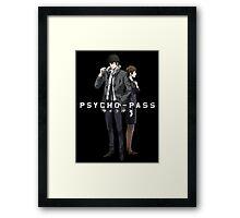 Psycho Pass Framed Print