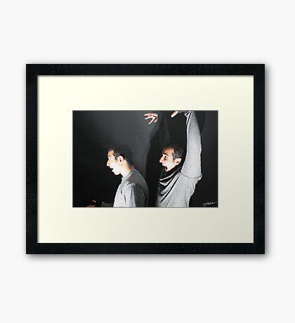 Sneaking Framed Print
