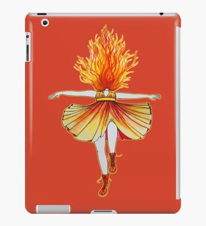 Girl on fire by Studinano iPad Case/Skin