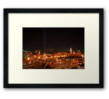 Christmas on the Country Club Plaza Framed Print