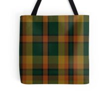 00336 Londonderry County District Tartan  Tote Bag