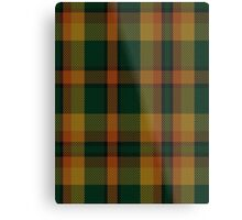 00336 Londonderry County District Tartan  Metal Print