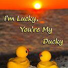 """""""I'm Lucky, You're My Ducky"""" by ArtThatSmiles"""